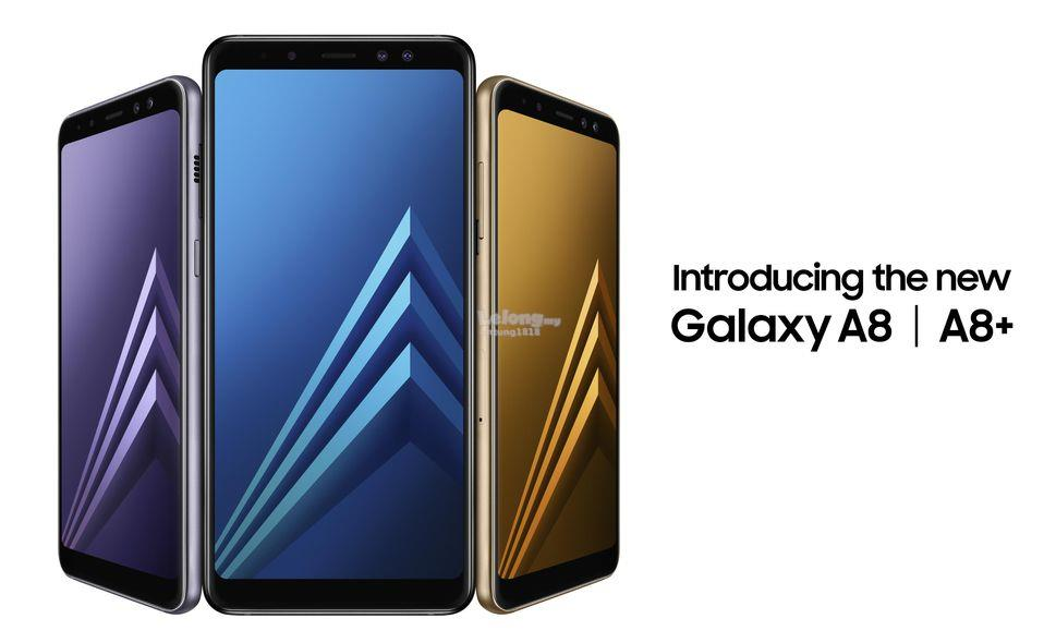 (ORIGINAL) Samsung Galaxy A8 Plus A8+ Water Resistant
