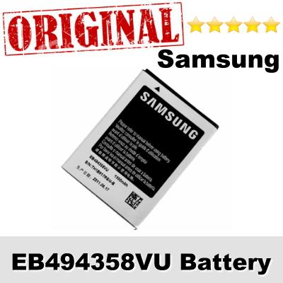 Original Samsung Galaxy Gio GT-S5660 EB494358VU Battery 1Year WARRANTY