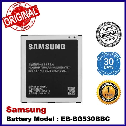Original Samsung Galaxy J3 (2016) J5 Grand Prime EB-BG530BBC Battery