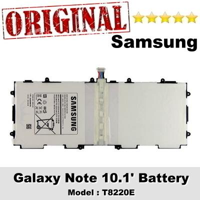 Original Samsung Galaxy Note 10.1 Battery Model T8220E Battery 1Y WRT