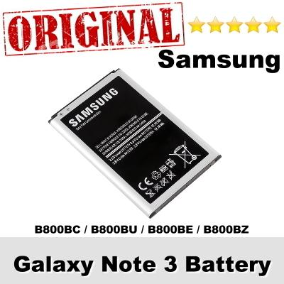 Original Samsung Galaxy Note 3 B800BC B800BU B800BE Battery 1Year WRT