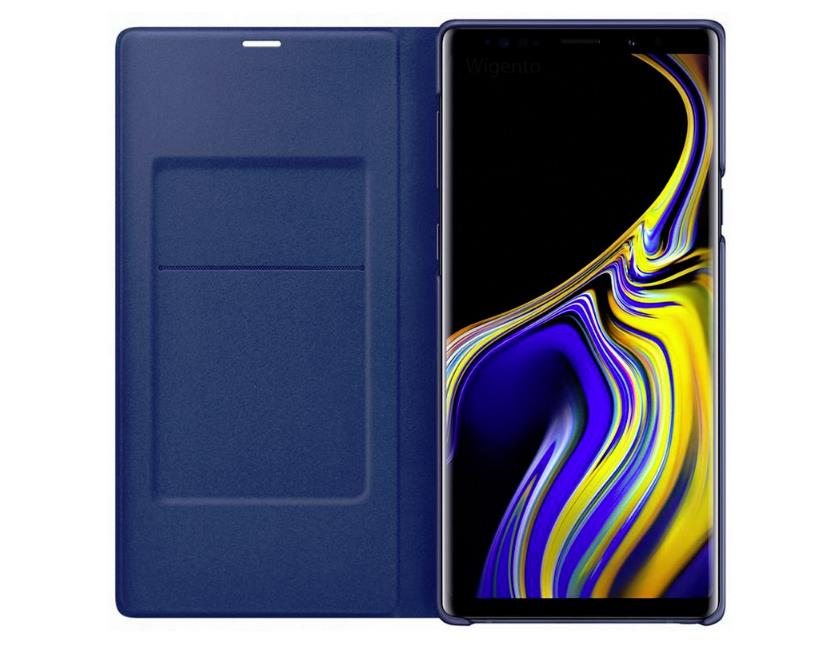 best website 58708 f15c9 Original Samsung Galaxy Note 9 Smart LED View Wallet Cover Case