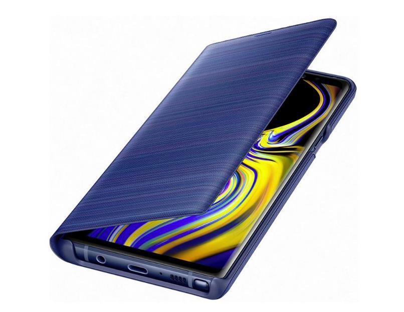best website 661ff 85fda Original Samsung Galaxy Note 9 Smart LED View Wallet Cover Case