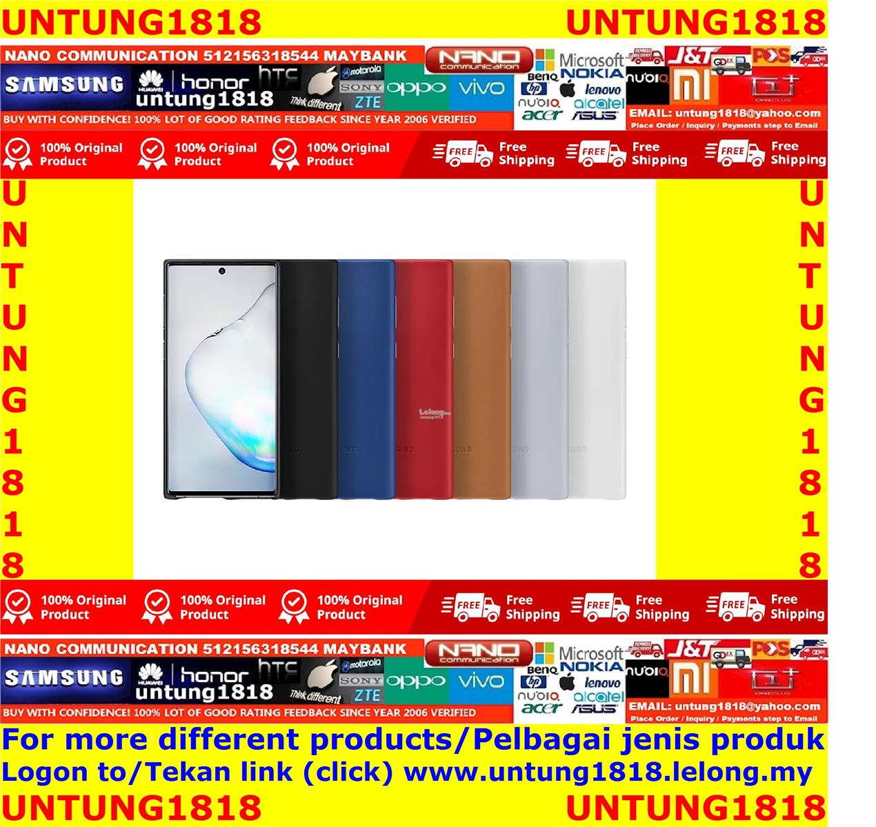 ORIGINAL..Samsung Galaxy Note10+ Note 10+ Note10 Note 10 More Choice