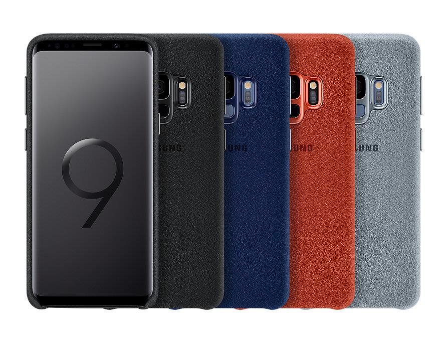 size 40 bdf72 53064 Original Samsung Galaxy S9 Alcantara Back Case Cover