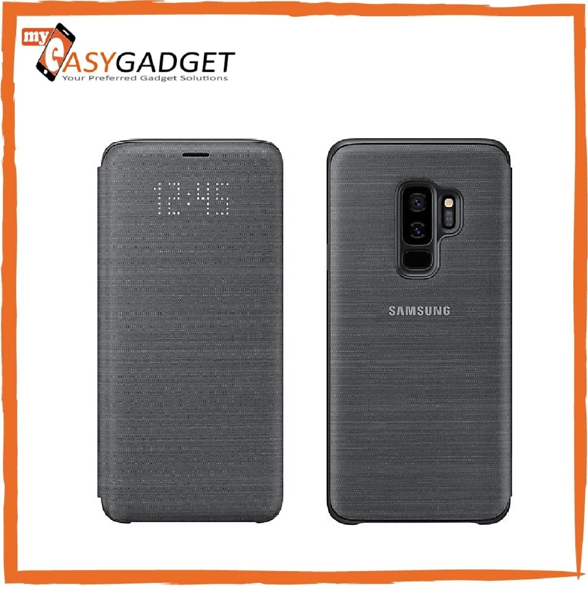 best service 1fdf0 90895 ORIGINAL SAMSUNG GALAXY S9 PLUS LED VIEW CASE COVER