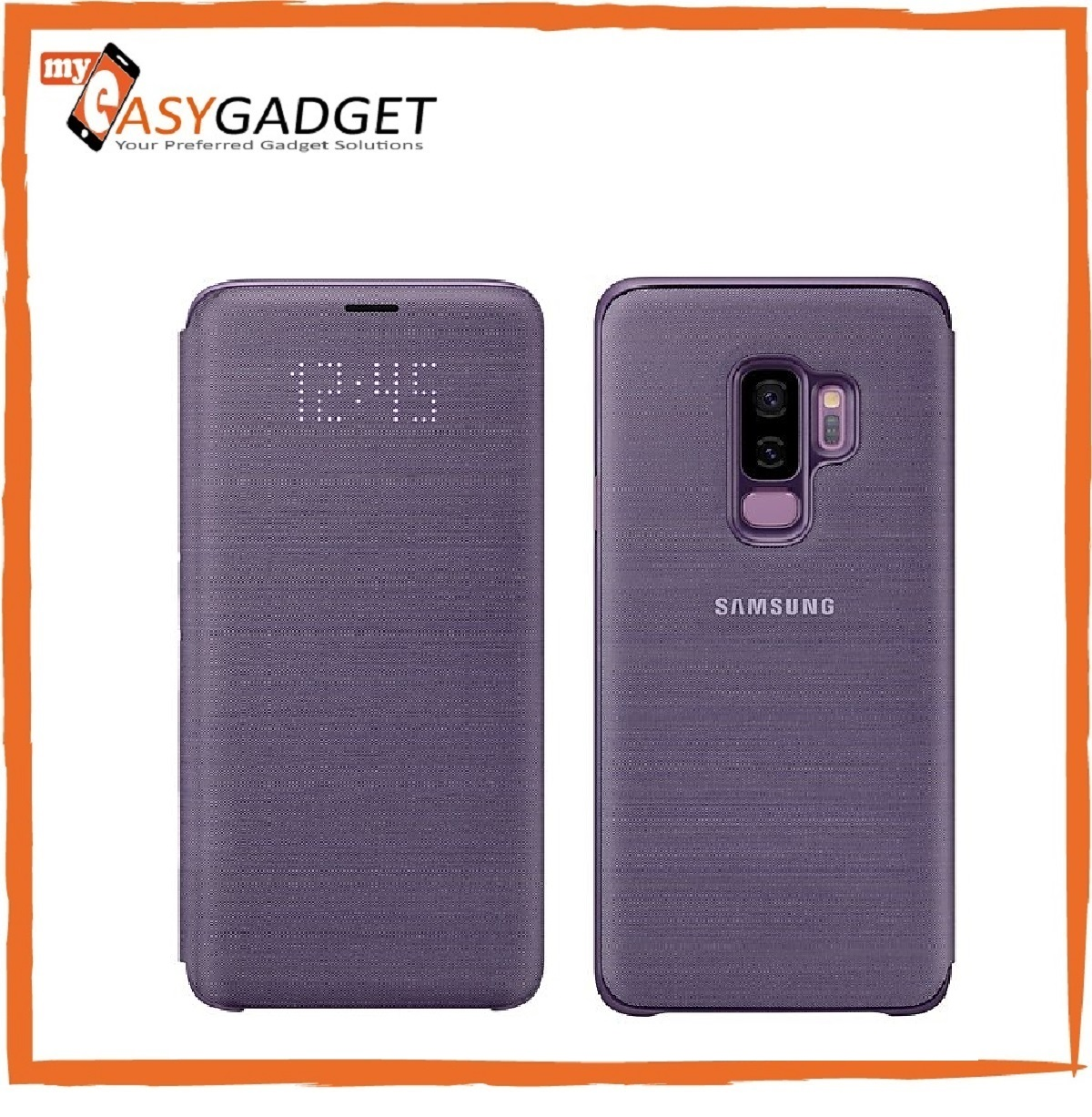 best service e2d39 fbde9 ORIGINAL SAMSUNG GALAXY S9 PLUS LED VIEW CASE COVER