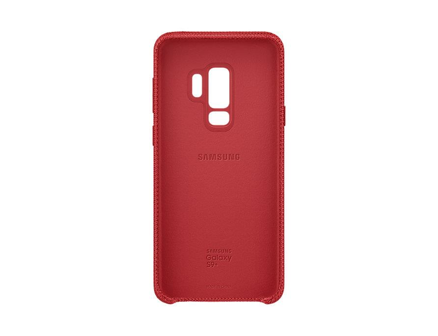 half off 7aeb9 ffd54 Original Samsung Galaxy S9 Plus S9+ Hyperknit Fabric Back Case Cover