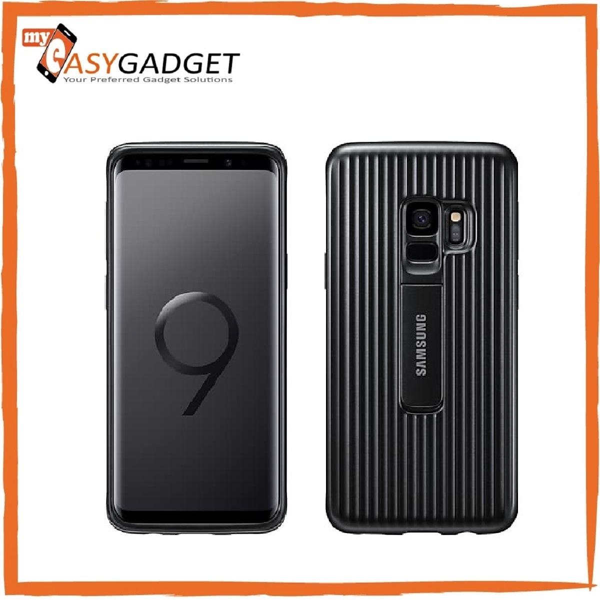 best service ed7f0 d91b7 ORIGINAL SAMSUNG GALAXY S9 PROTECTIVE STANDING COVER CASE