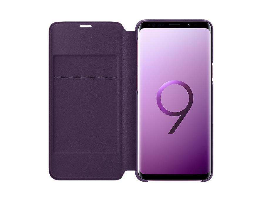 best website b8c6a 93c4c Original Samsung Galaxy S9+ S9 Plus LED View Wallet Case Cover