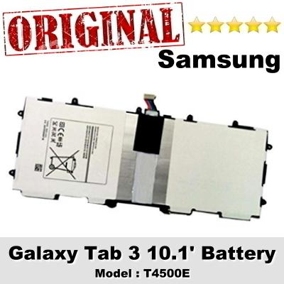 Original Samsung Galaxy Tab 3 10.1 Battery Model T4500E 1Year WRT
