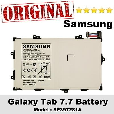Original Samsung Galaxy Tab 7.7 Battery Model SP397281A 1Year WRT