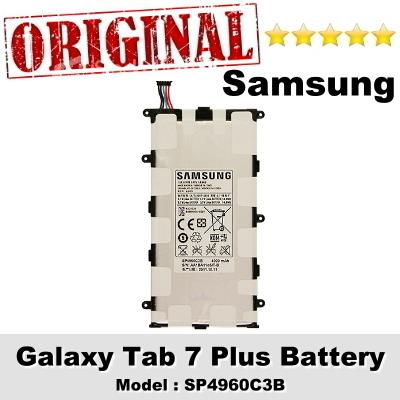 Original Samsung Galaxy Tab 7 Plus P3100 Battery SP4960C3B 1Year WRT