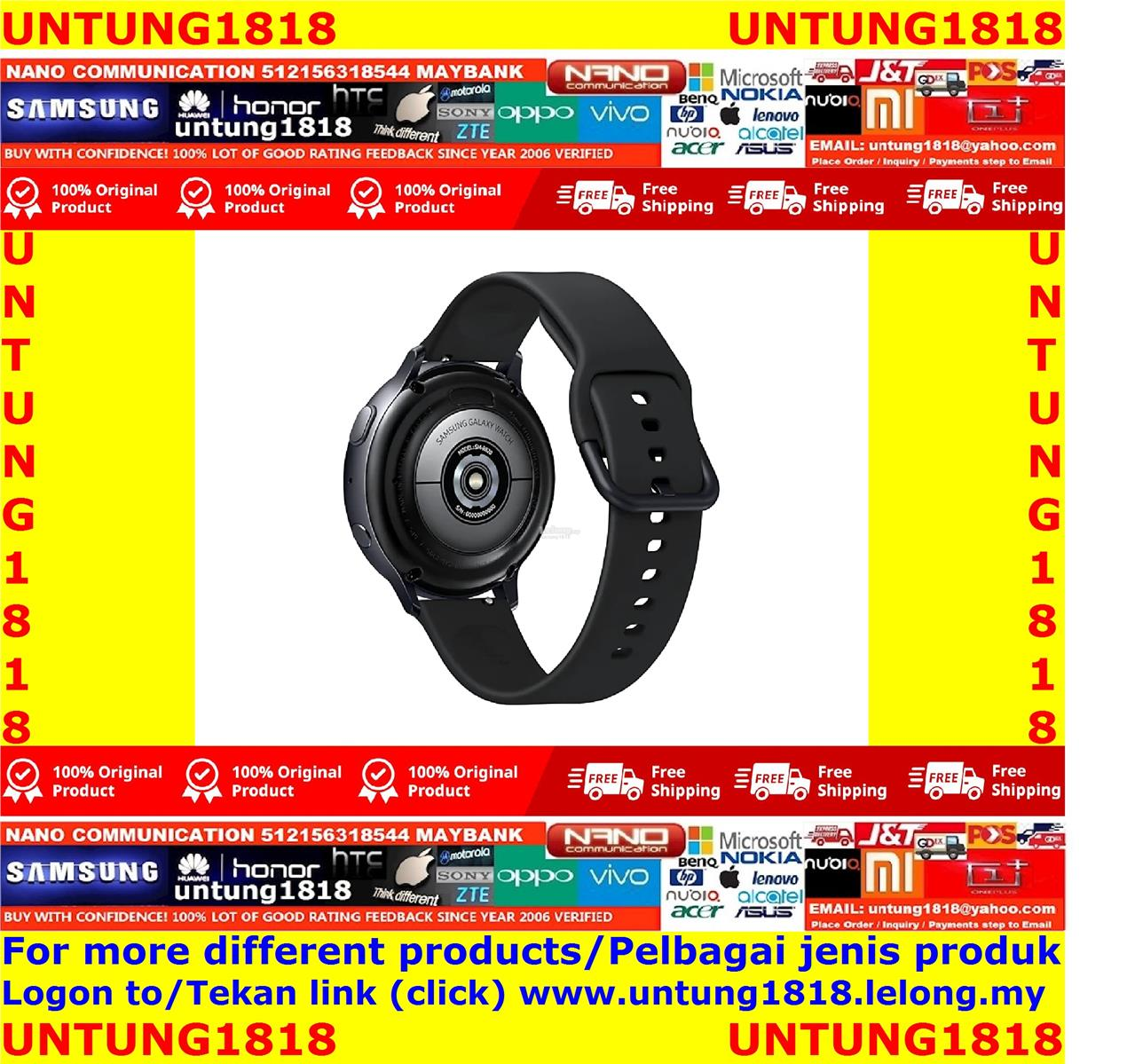 ORIGINAL.Samsung Galaxy Watch Active2 (44mm) Aluminium