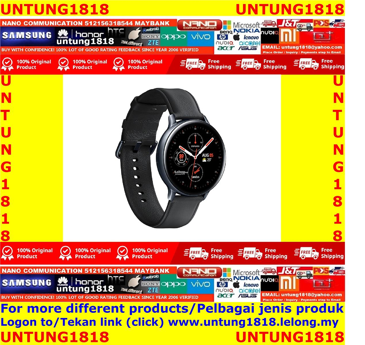 ORIGINAL.Samsung Galaxy Watch Active2 (44mm) Stainless Steel