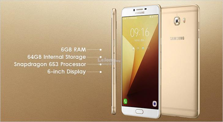 ORIGINAL SAMSUNG MALAYSIA Galaxy C9 Pro 6GB RAM