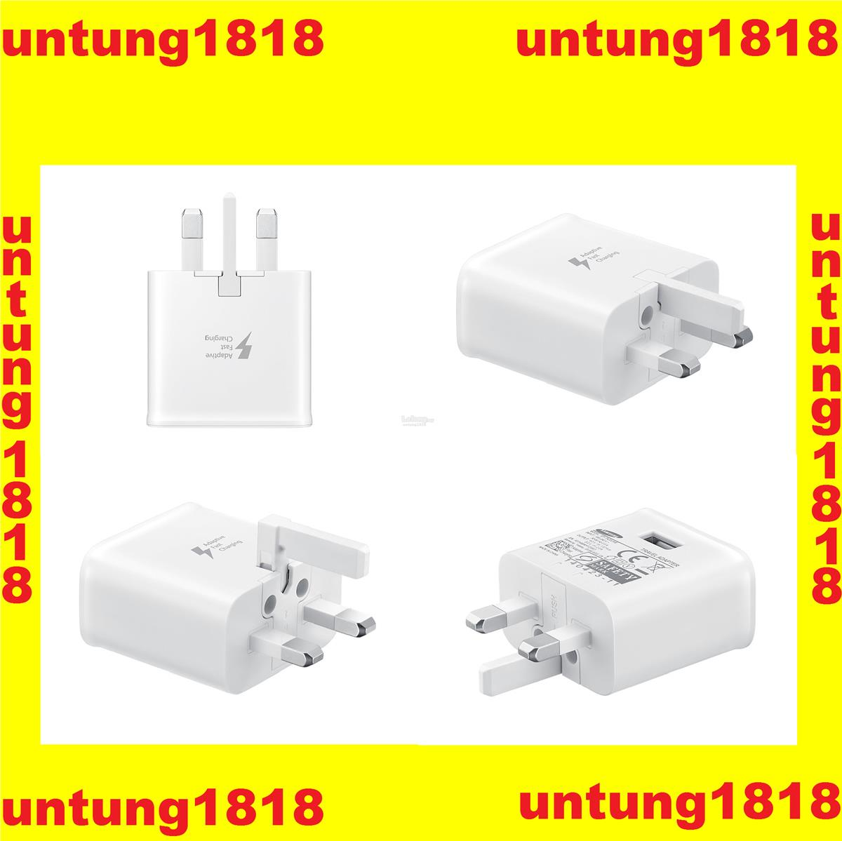 Original Samsung Malaysia..Samsung Fast Charge Travel Adapter with USB
