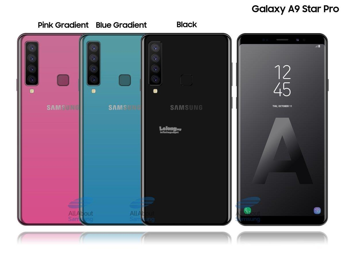(ORIGINAL) SAMSUNG Samsung Galaxy A9 (2018) 128GB Quad Camera