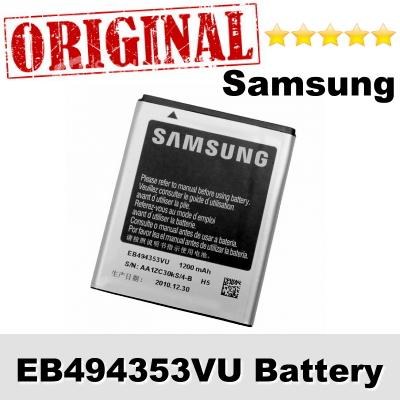 Original Samsung Star II DUOS GT-C6712 EB494353VU Battery 1Y WARRANTY