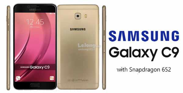 (ORIGINAL) SAMSUNG WARRANTY Samsung Galaxy C9 Pro 2017 6GB RAM
