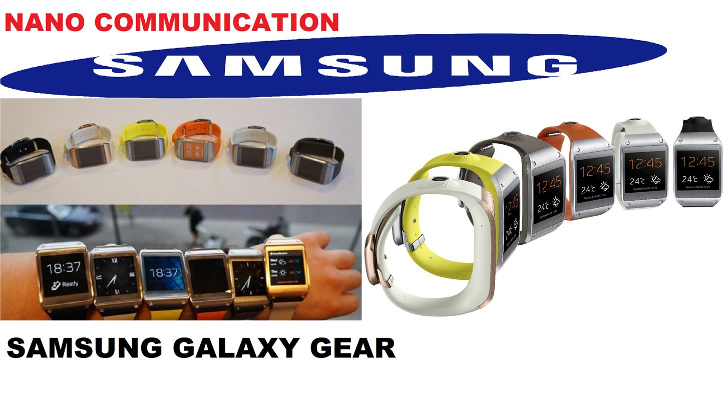 (ORIGINAL) SAMSUNG WARRANTY Samsung Galaxy Gear SM-V700 SmartWatch