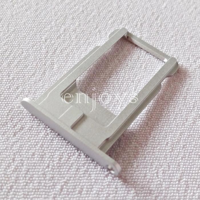 ORIGINAL Sim Tray Holder Apple iPhone 6 Plus ~Card Slot ~Silver /White