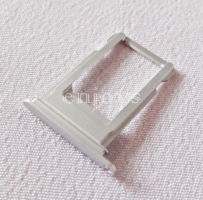 "ORIGINAL Sim Tray Holder Apple iPhone 7 4.7"" ~Card Slot ~Silver /White"