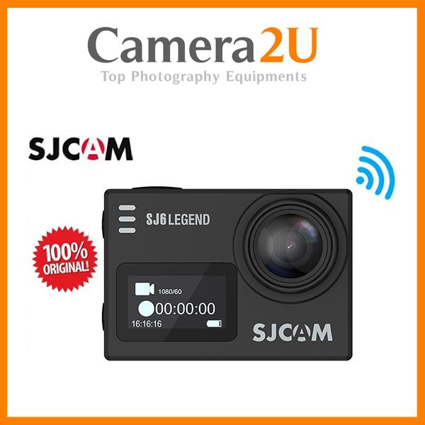 Original SJCAM SJ6 LEGEND 4K WiFi Action Camera (Black)