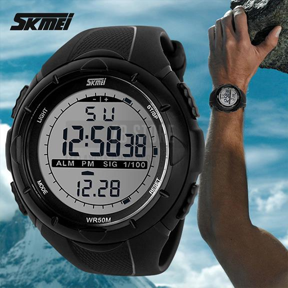 Original SKMEI 1025 Men Sport Watch Water Resistant 50M