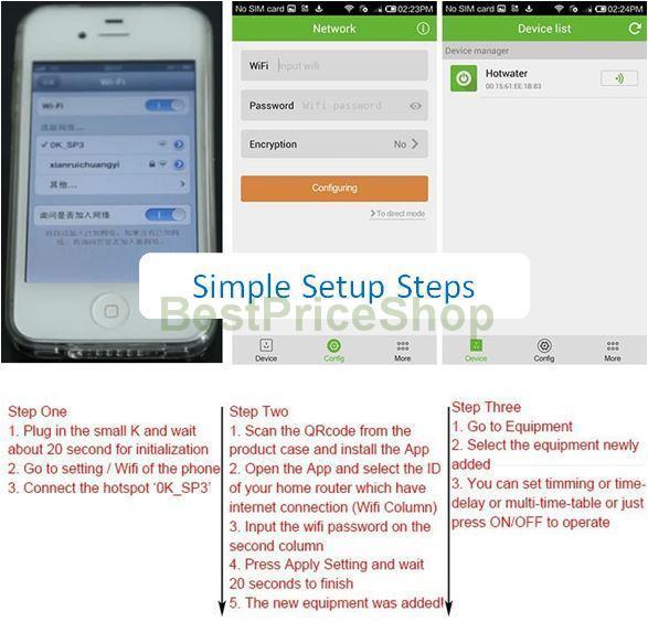 Original Smart Plug Intelligent Phone Remote Control Wifi iOS Android