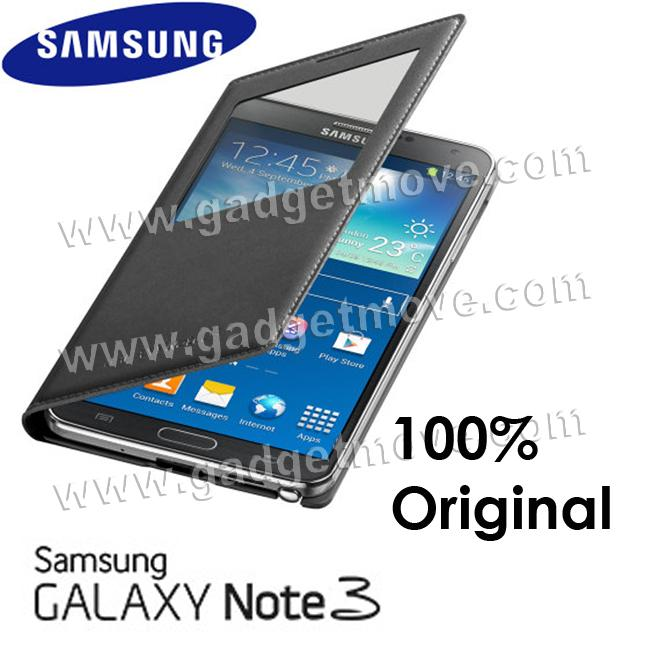 Original SME Samsung Galaxy Note 3 4 Neo Smart Cover Leather Case. ‹ ›