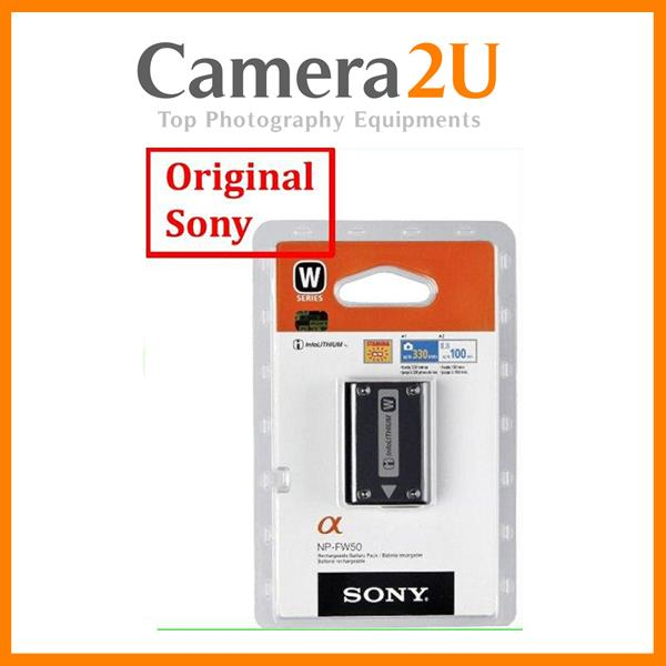 Original Sony NP-FW50 Battery for A5100 NEX3 NEX5 NEX-5R NPFW50