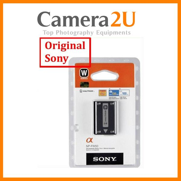 Original Sony NP-FW50 Battery Pack for A5000 NEX5N NEX3N