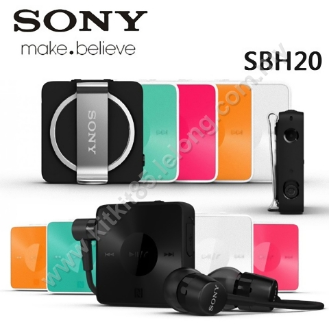 Original Sony SBH20 Stereo Bluetooth Wireless Headset Earphone - NFC. ‹ ›