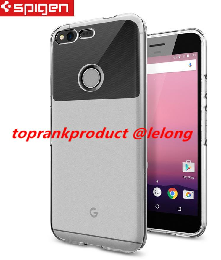 release date d61c4 aa989 Original Spigen Google Pixel / XL Liquid Crystal Case Cover Casing
