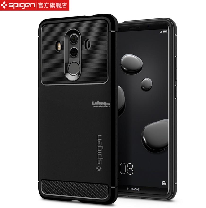 Original Spigen Huawei Mate 10 / Pro Rugged Armor Case Cover Casing