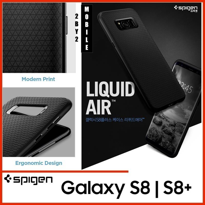 cfb5b5c6cd0 ORIGINAL SPIGEN LIQUID AIR ARMOR SAMSUNG GALAXY S8 S8 PLUS CASE COVER. ‹ ›