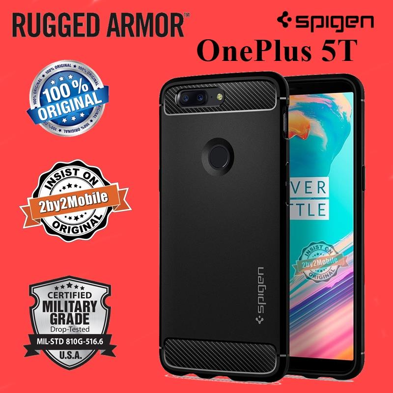 Original Spigen Rugged Armor OnePlus 5T One Plus 5T case cover