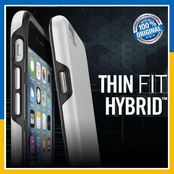 on sale 4d353 6ece1 Original Spigen SGP iPhone 6S 6 Plus Thin Fit Hybrid Case Cover Casing