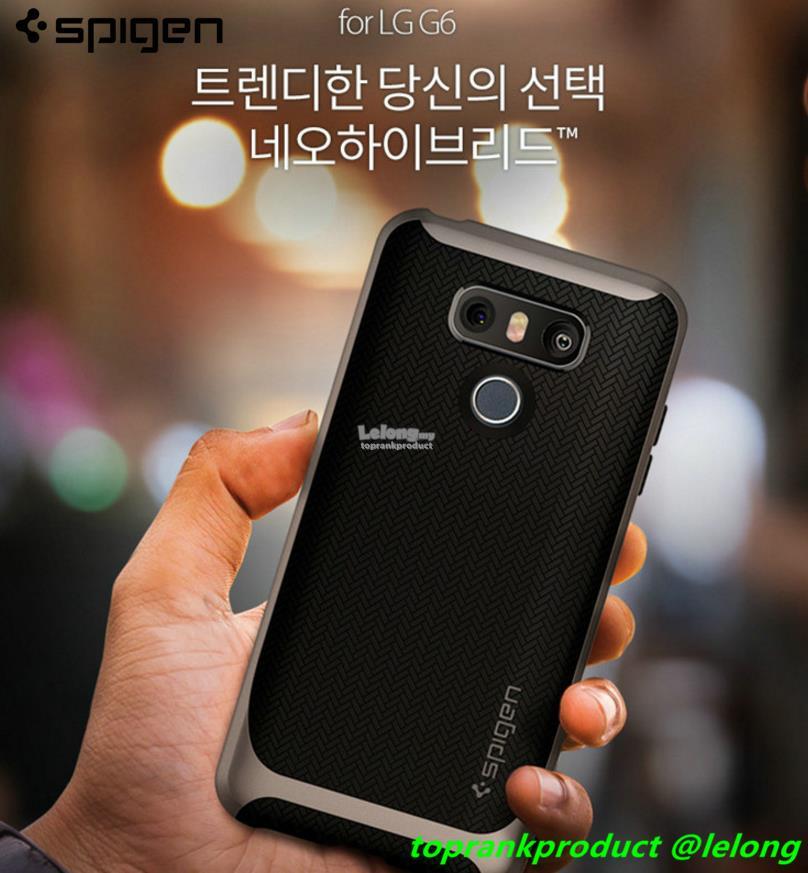 outlet store 0a348 d152b Original Spigen SGP LG G6 Neo Hybrid Back Armor Case Cover Casing
