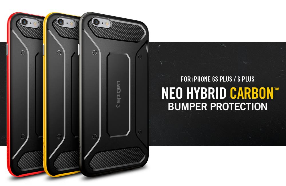 brand new 988d0 4b6b2 Original Spigen SGP Neo Hybrid Carbon Case Apple iPhone 6S PLUS/6 PLUS