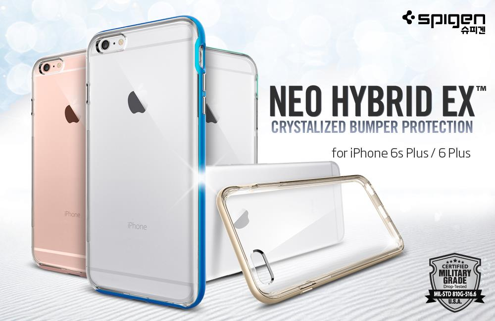 hot sale online f0b72 c2890 Original Spigen SGP Neo Hybrid EX Case Apple iPhone 6S PLUS / 6 PLUS