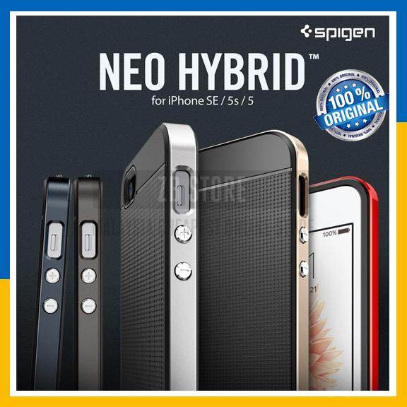 buy popular 81924 b8065 Original Spigen SGP Neo Hybrid Cover Case for iPhone SE / 5S / 5