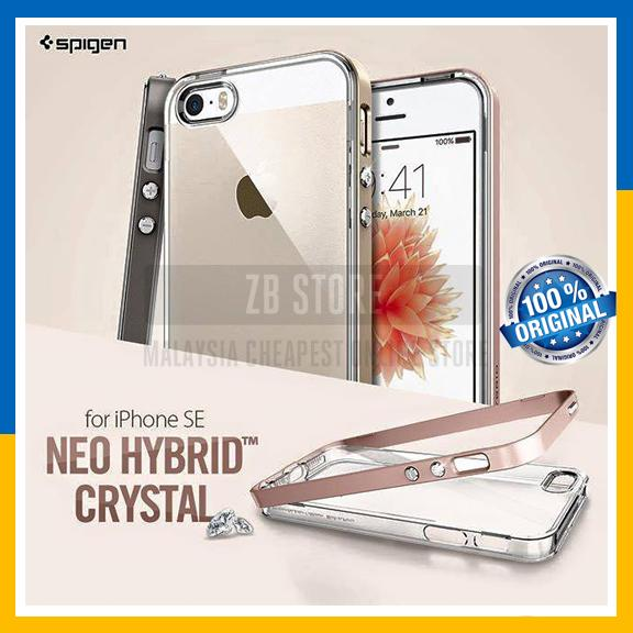 buy popular a5c92 88f8a Original Spigen SGP Neo Hybrid Crystal Cover Case iPhone SE / 5S / 5