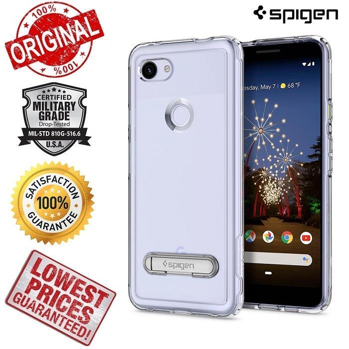 hot sales fa927 5bec3 ORIGINAL SPIGEN Slim Armor Crystal Google Pixel 3A XL Phone Case Cover