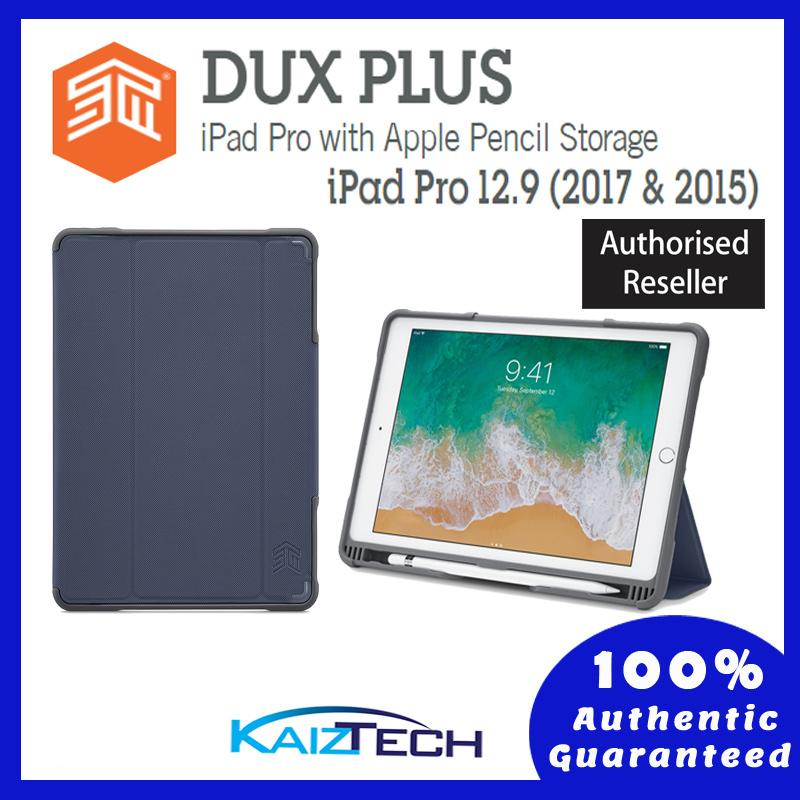 Original STM DUX Plus Rugged Protective Case for Apple iPad Pro 12.9