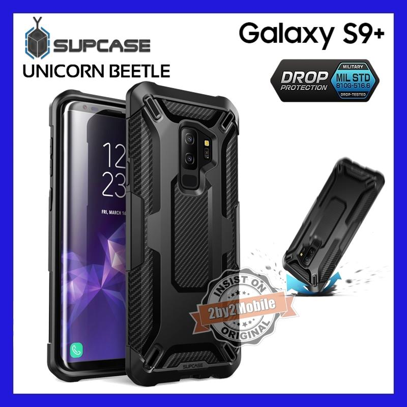 Original SUPCASE Bettle Carbon Fiber TPU Galaxy S9+ S9 Plus case cover