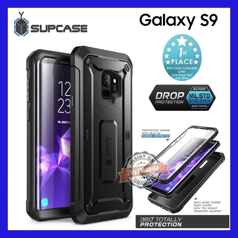 Original SUPCASE Unicorn Bettle PRO full protection Galaxy S9 case