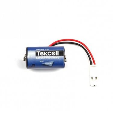 Original Tekcell SB-AA02 3.6V 1/2AA PLC Lithium Battery With Plug