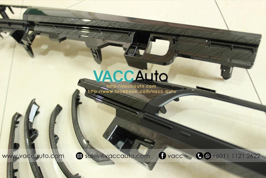 [Original] Toyota Vios (3rd Gen) Front Panel Set - Sporty